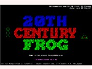 20th Century Frog Game