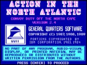 Action in the North Atlantic game