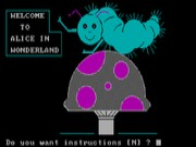 Alice in Wonderland on Msdos Game