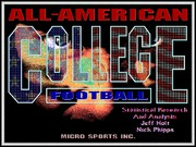 All-American College Football game