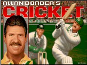 Allan Borders Cricket Game