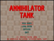 Annihilator Tank game