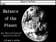 Balance of the Planet game