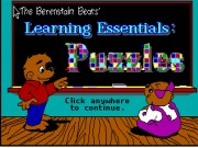 Berenstain Bears - Learning Essentials Game