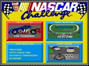 Bill Elliotts NASCAR Challenge game