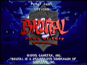 Brutal - Paws of Fury on Msdos