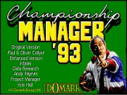 Championship Manager 93-94 Game