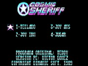 Cosmic Sheriff