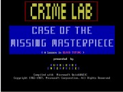 Crime Lab - Case Of The Missing Masterpiece