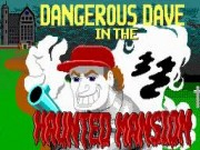 Dangerous Dave In the Haunted Mansion Game