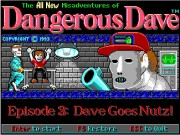 Dangerous Dave Goes Nutz Game
