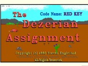 The Dezerian Assignment- Code Red Key