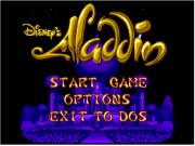 Aladdin on Msdos Game