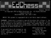 Ed Chess Game