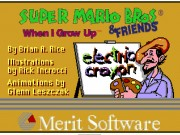 Electric Crayon 3.1 - Super Mario Bros and Friends - When I Grow Up Game