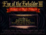 Eye of the Beholder III - Assault on Myth Drannor