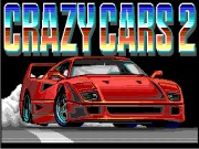 Crazy Cars II: F40 Pursuit Simulator Game