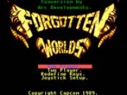 Forgotten Worlds on Msdos