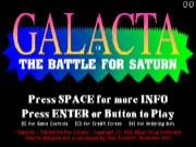Galacta - The Battle for Saturn Game