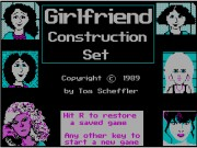 Girlfriend Construction Set Game