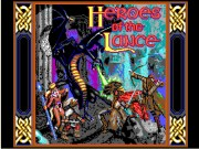 Heroes of the Lance on Msdos