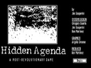 Hidden Agenda Game