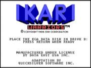 Ikari Warriors on Msdos