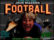 John Madden Football on Msdos
