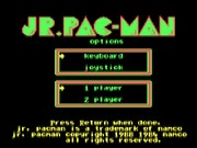 Jr. Pac-Man Game