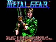 Metal Gear on Msdos Game