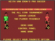 Microprose Pro Soccer Game