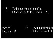 Microsoft Decathlon Game