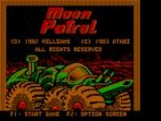 Moon Patrol Game