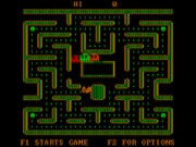 Ms. Pac-Man on Msdos Game