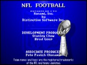 NFL Football on Msdos game