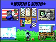 North and South on Msdos