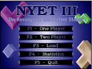 Nyet 3 - The Revenge of the Mutant Stones game
