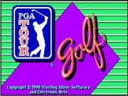 PGA Tour Golf on Msdos