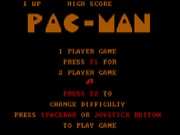 Pac-Man on Msdos Game