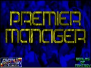 Premier Manager on Msdos Game