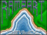Rampart on Msdos Game