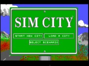 SimCity on Msdos Game