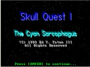 Skull Quest I - The Cyan Sarcophagus