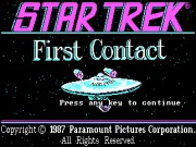 Star Trek - First Contact Game