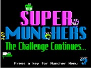 Super Munchers - The Challenge Continues...