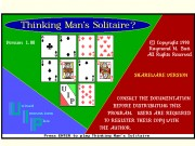 Thinking Man's Solitare?