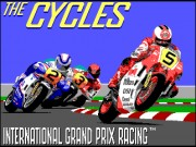 The Cycles - International Grand Prix Racing Game