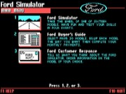 The Ford Simulator 1987