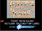 Times of Lore on Msdos