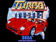 Turbo Outrun on Msdos Game